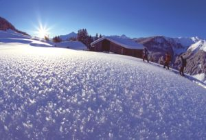Bergchalet Zillertal Winterwandern